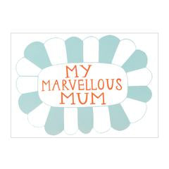 Card . For Mum . My Marvellous Mum