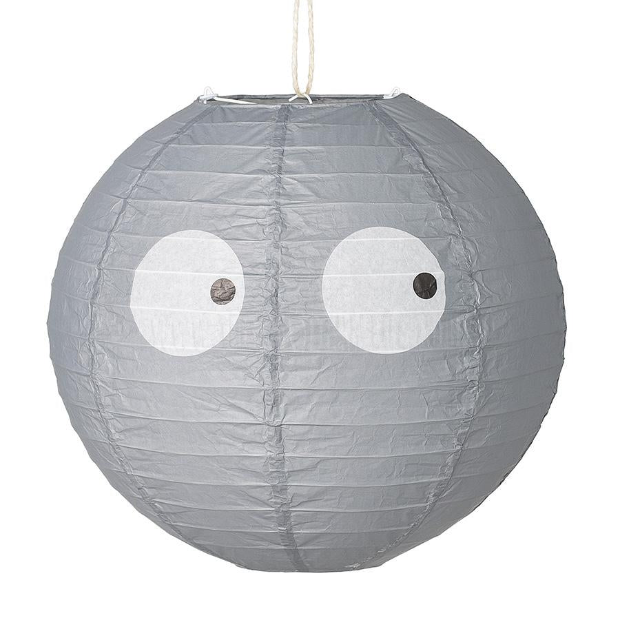 Ceiling Lantern . Beady Eyes / Paper - Grey