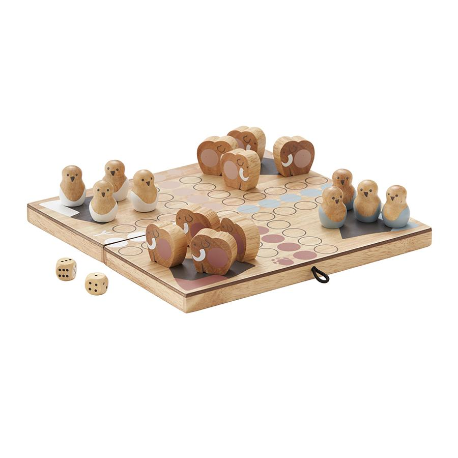 Toy . Wooden Board Game - Neo Ludo
