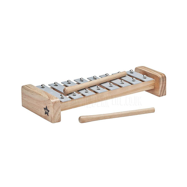 Toy . Xylophone / Grey & Natural