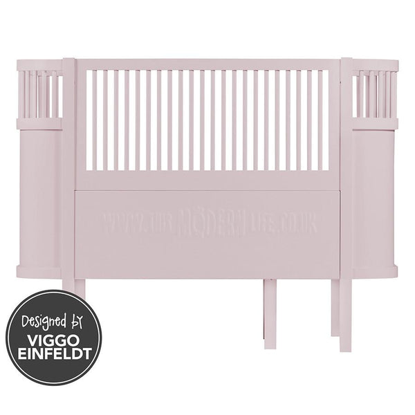 Cotbed . Sebra Baby Cot & Junior Bed - Pink