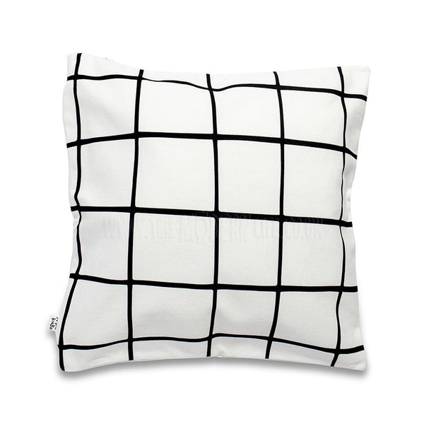 Cushion Cover . Grid - Square
