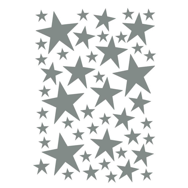 Wall Stickers . Mini Stars - Grey