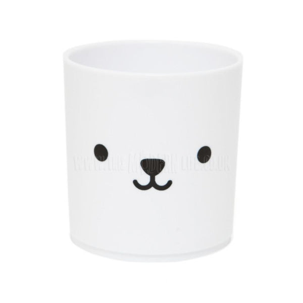 Tumbler . Bear - White / Black
