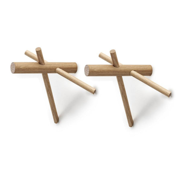 Wall Hook . Set Of 2 - Sticks