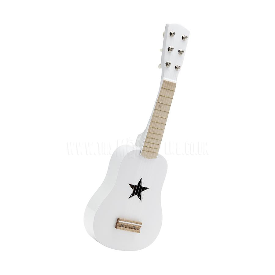 Toy . Guitar - 6 Strings / White