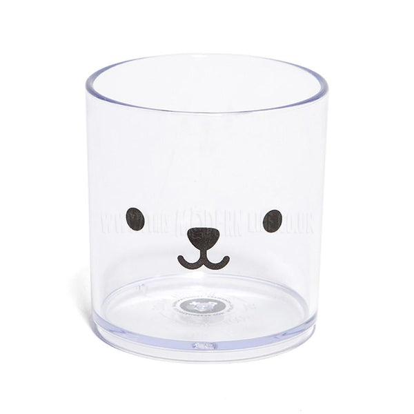 Tumbler . Bear - Clear / Black