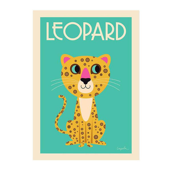 Poster . The Leopard