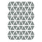 Wall Stickers . Triangles - Grey
