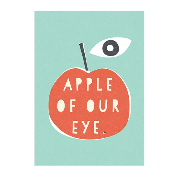 Card . Any Occasion - Apple of our Eye