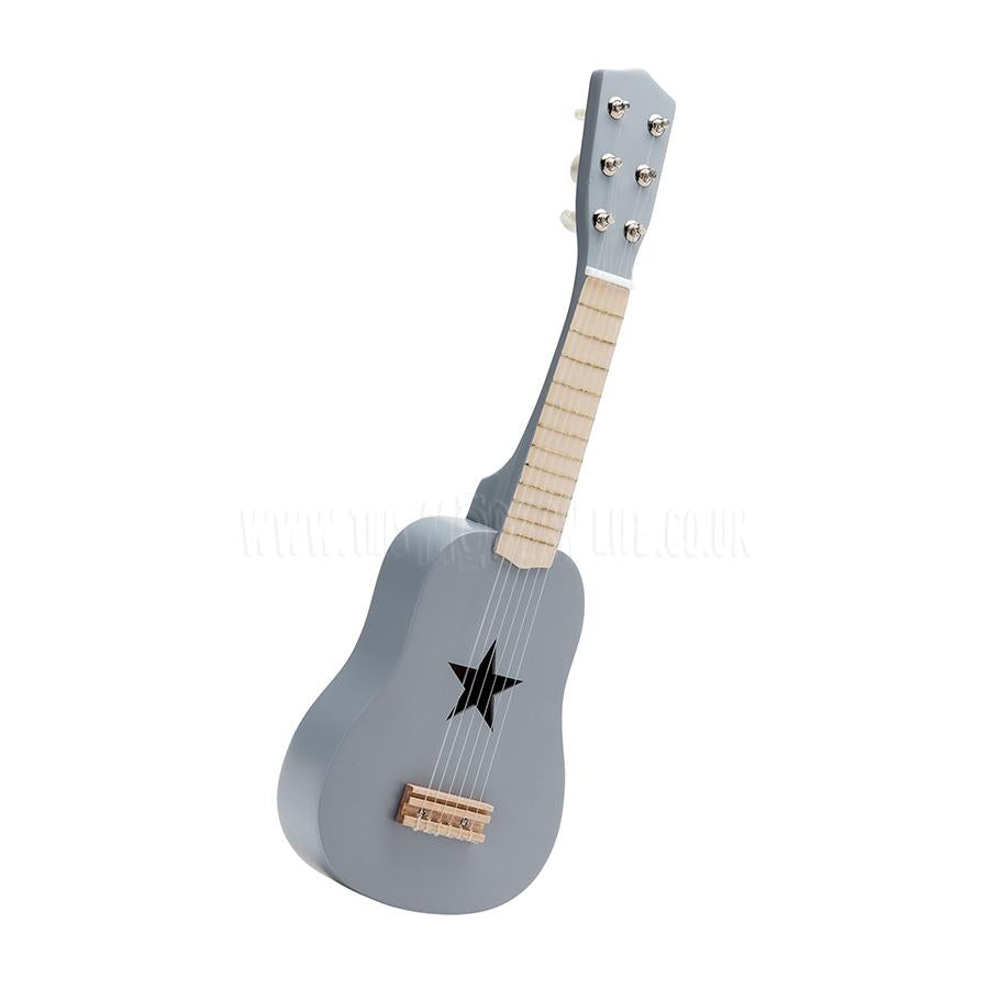 Toy . Guitar - 6 Strings / Grey