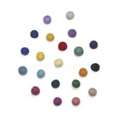 Garland . Felt Ball - Rainbow
