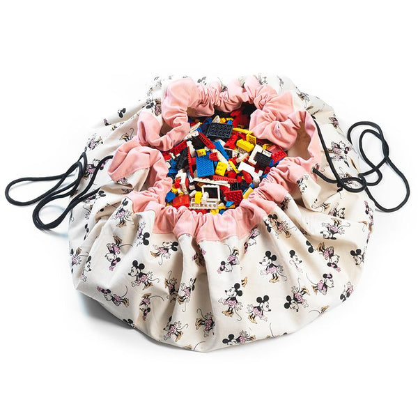 Storage . Toy Bag / Play Mat - Disney / Minnie Mouse