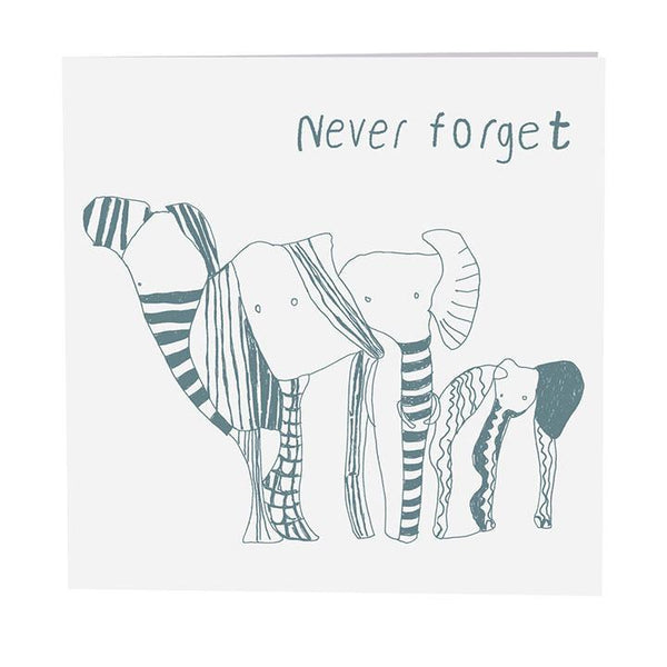 Card . Never Forget