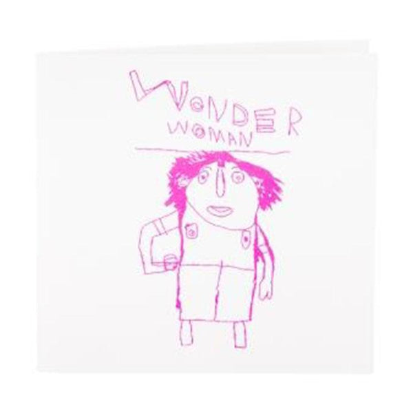 Card . Wonder Woman
