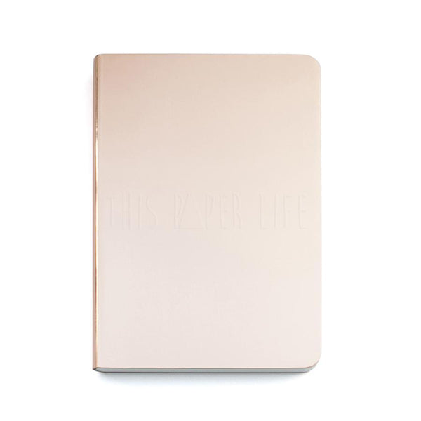 Notebook . Small Dotted Journal - Shiny Starlet / Copper