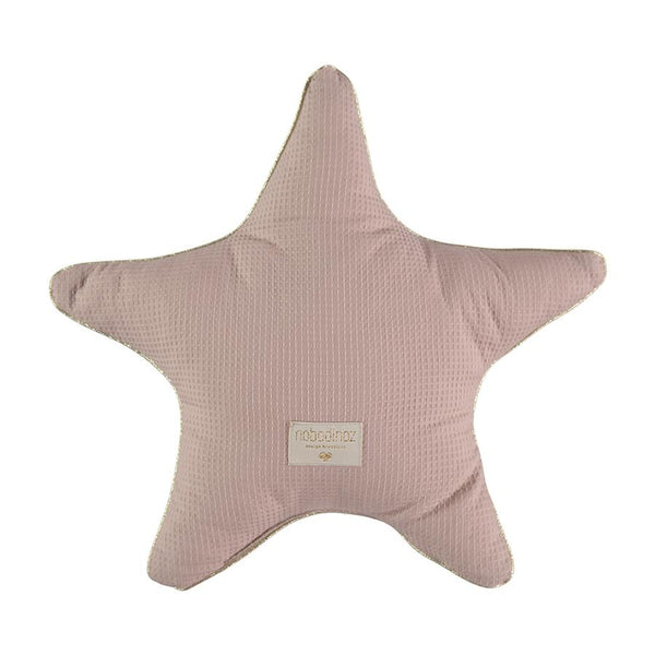 Cushion . Cotton Star - Misty Pink / Aristote 40cm x 40cm