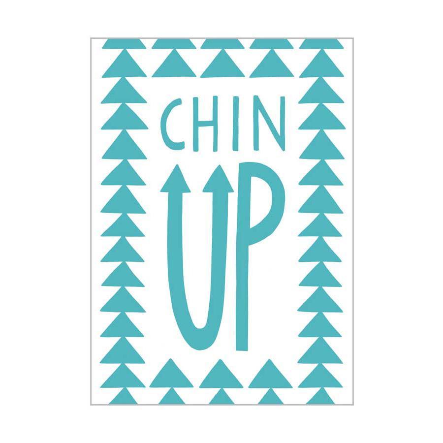 Card . Any Occasion - Chin Up