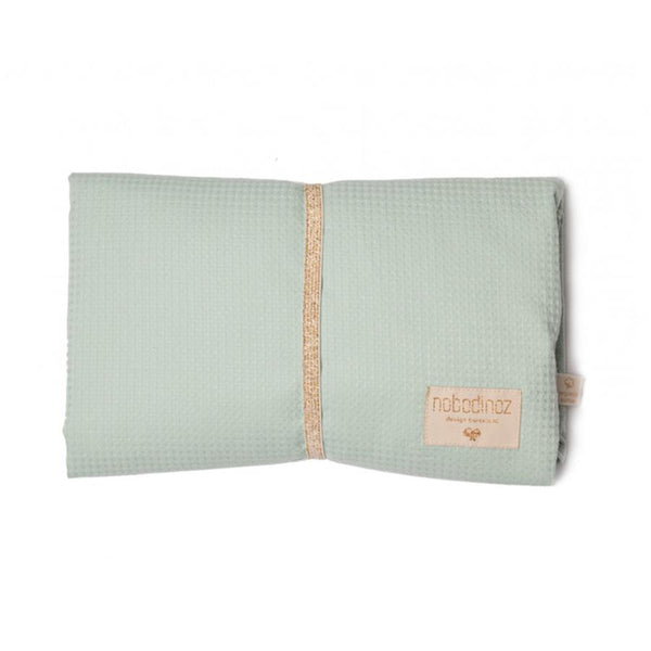 Waterproof Changing Pad . Mozart - Aqua