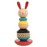 Toy . Wooden Rabbit Stacker