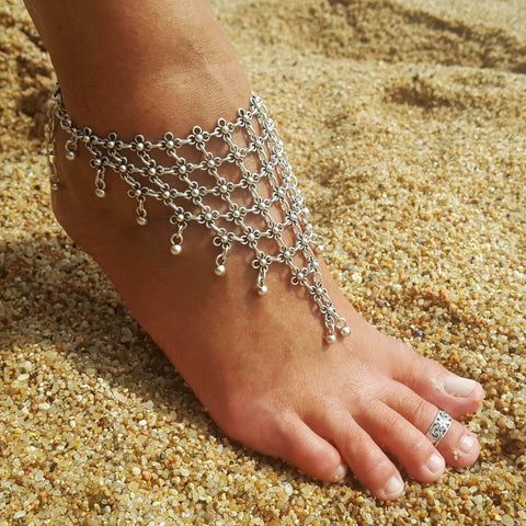 Gypsy Floral Anklet