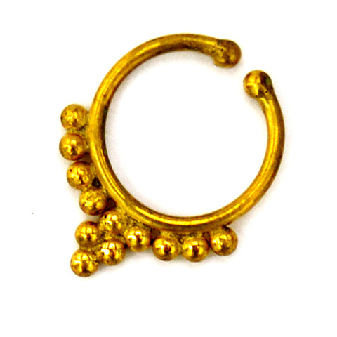 Rajasthani Septum Ring