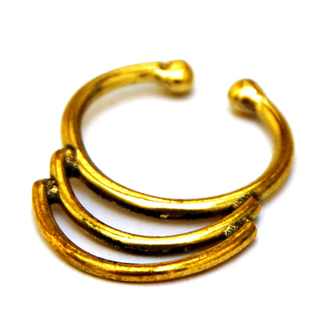 Brass Indian Septum Ring