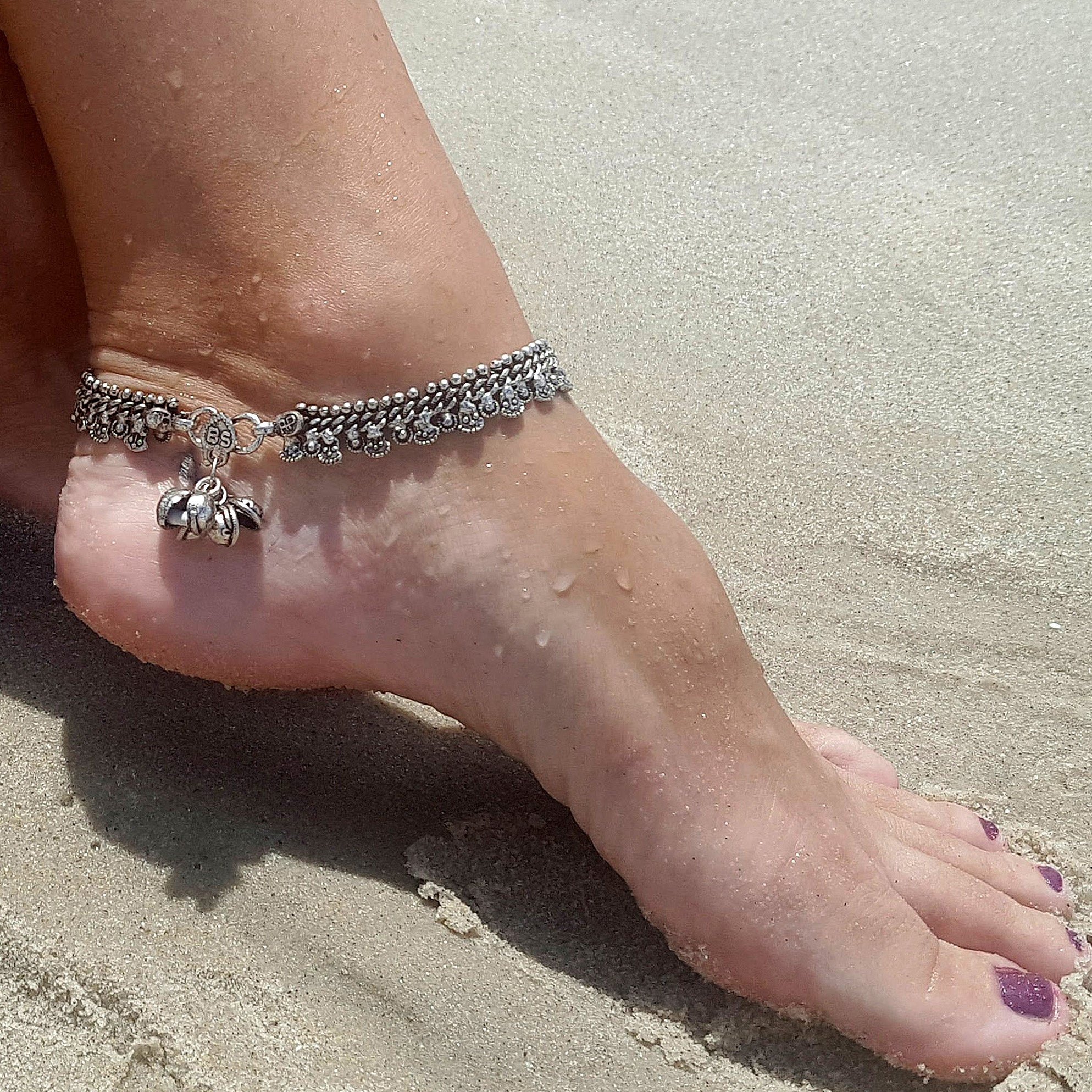 Indian gypsy anklet