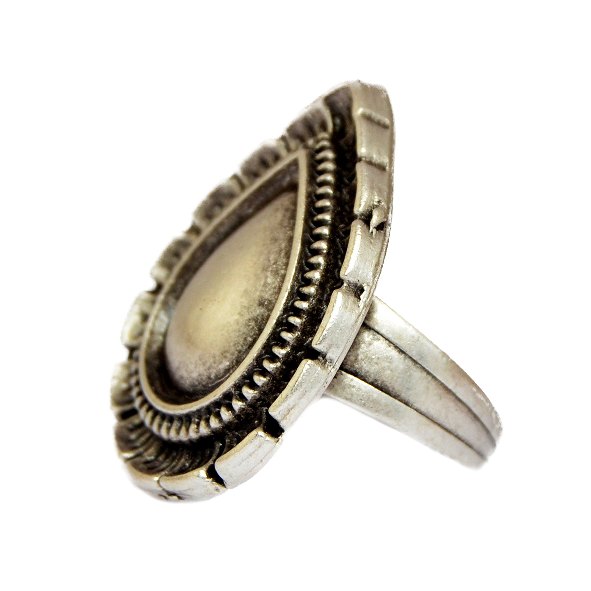 Gypsy drop ring