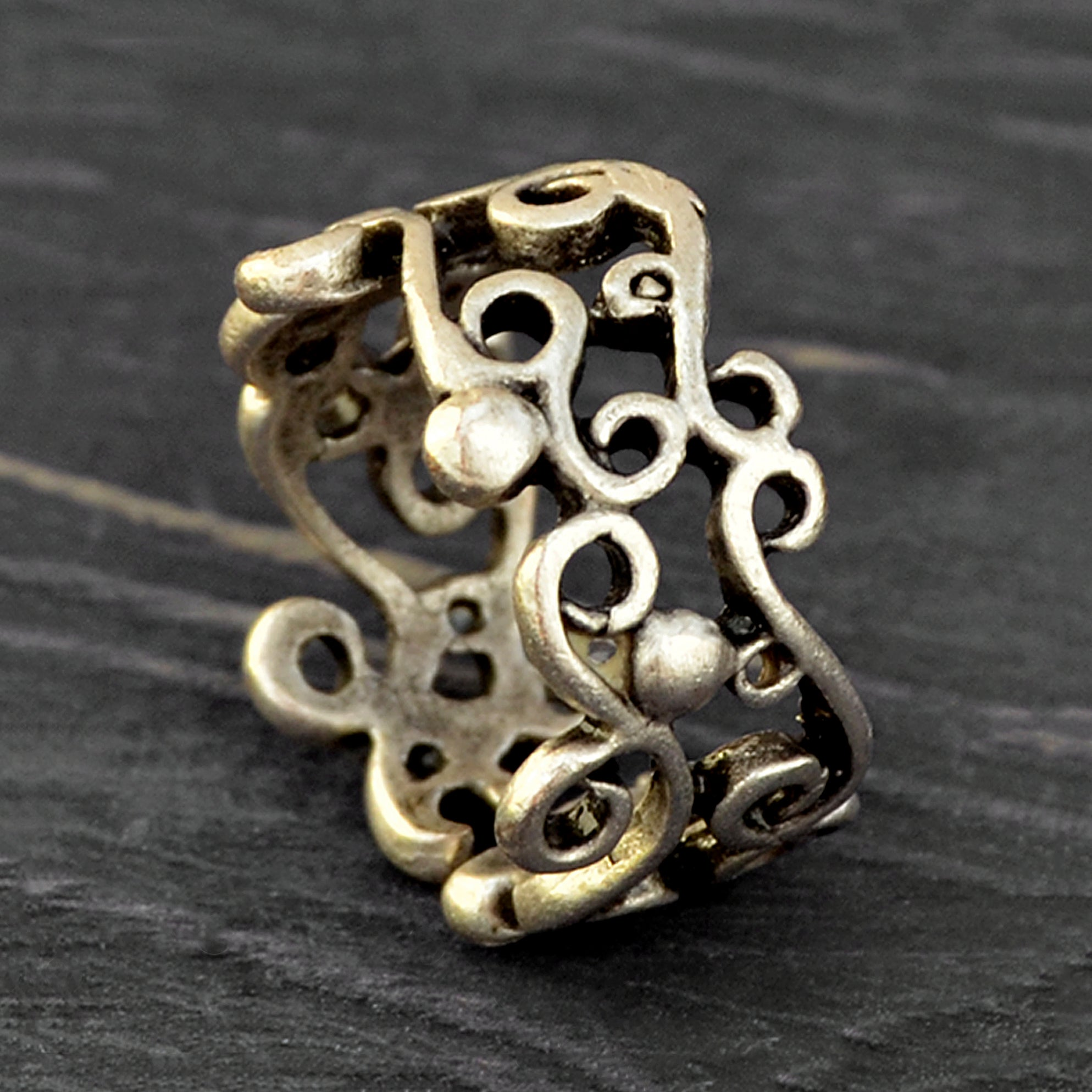 Bohemian tribal ring