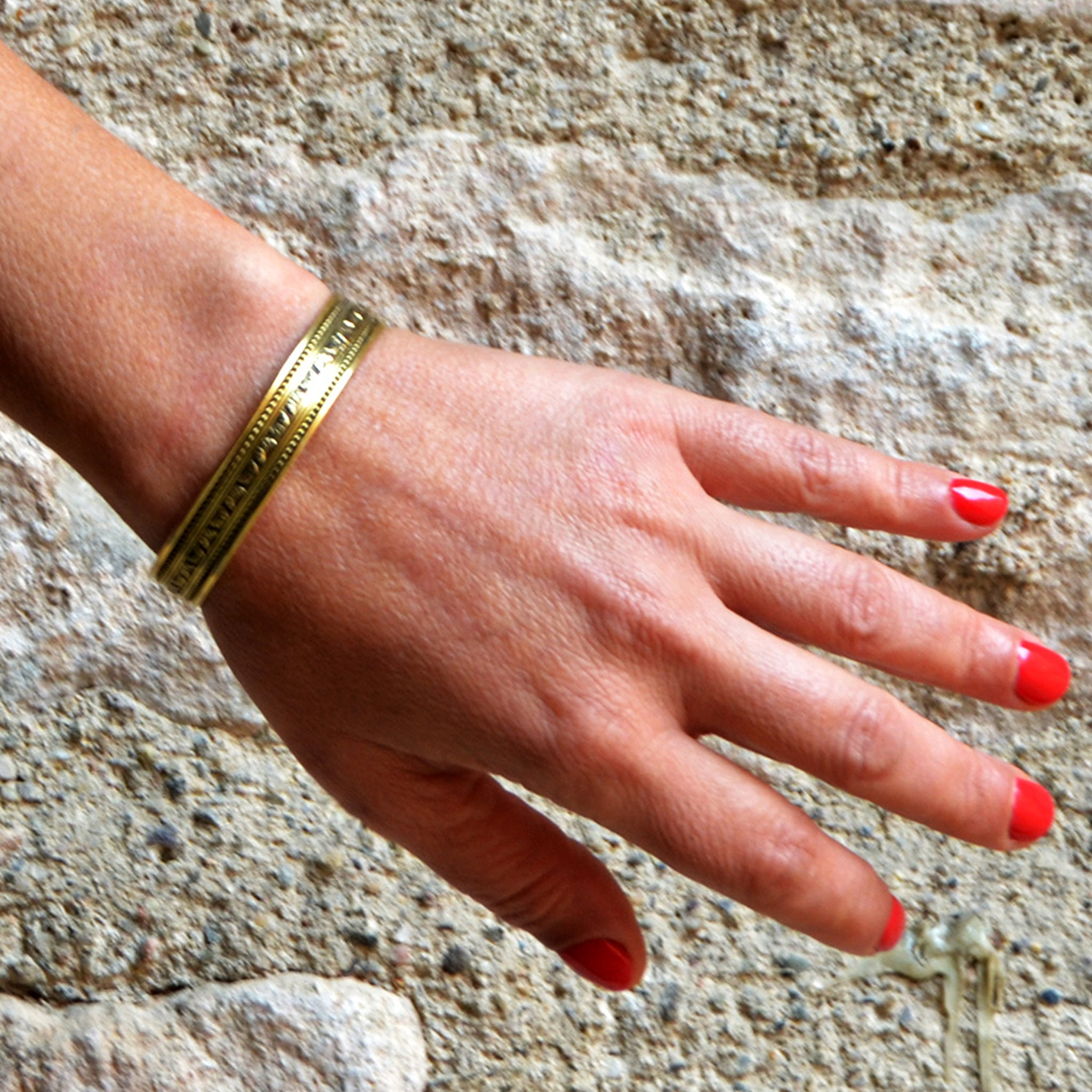 Boho tribal bangle
