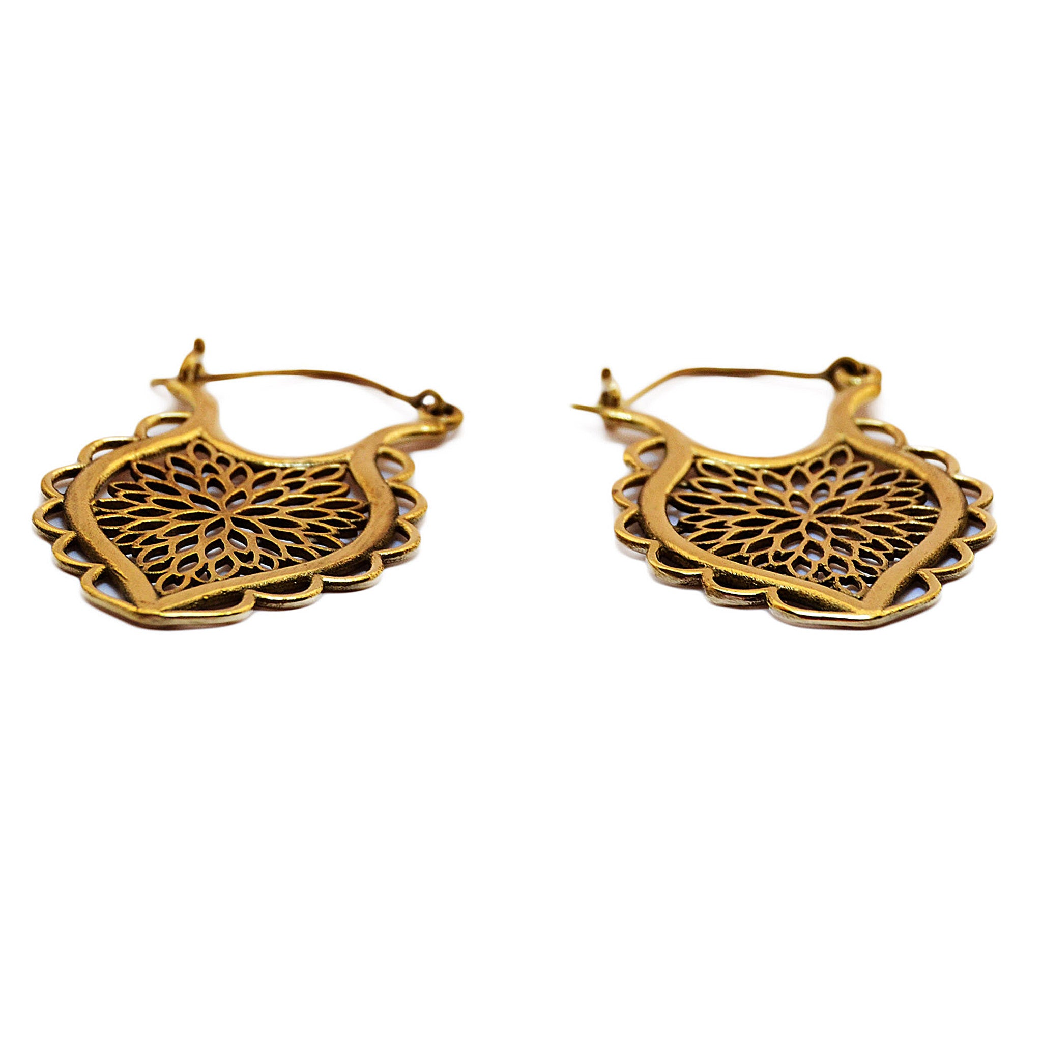 Gypsy indian earrings