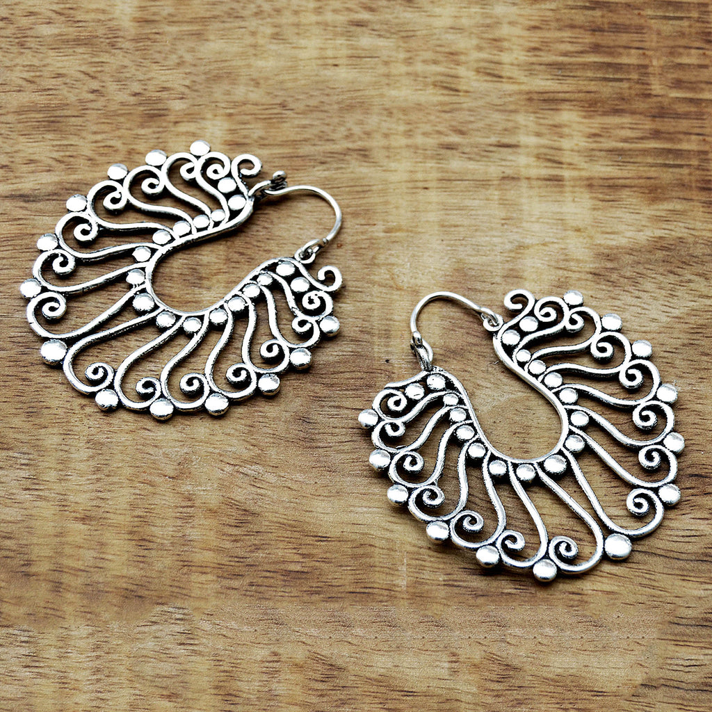 Gypsy Silver Earrings