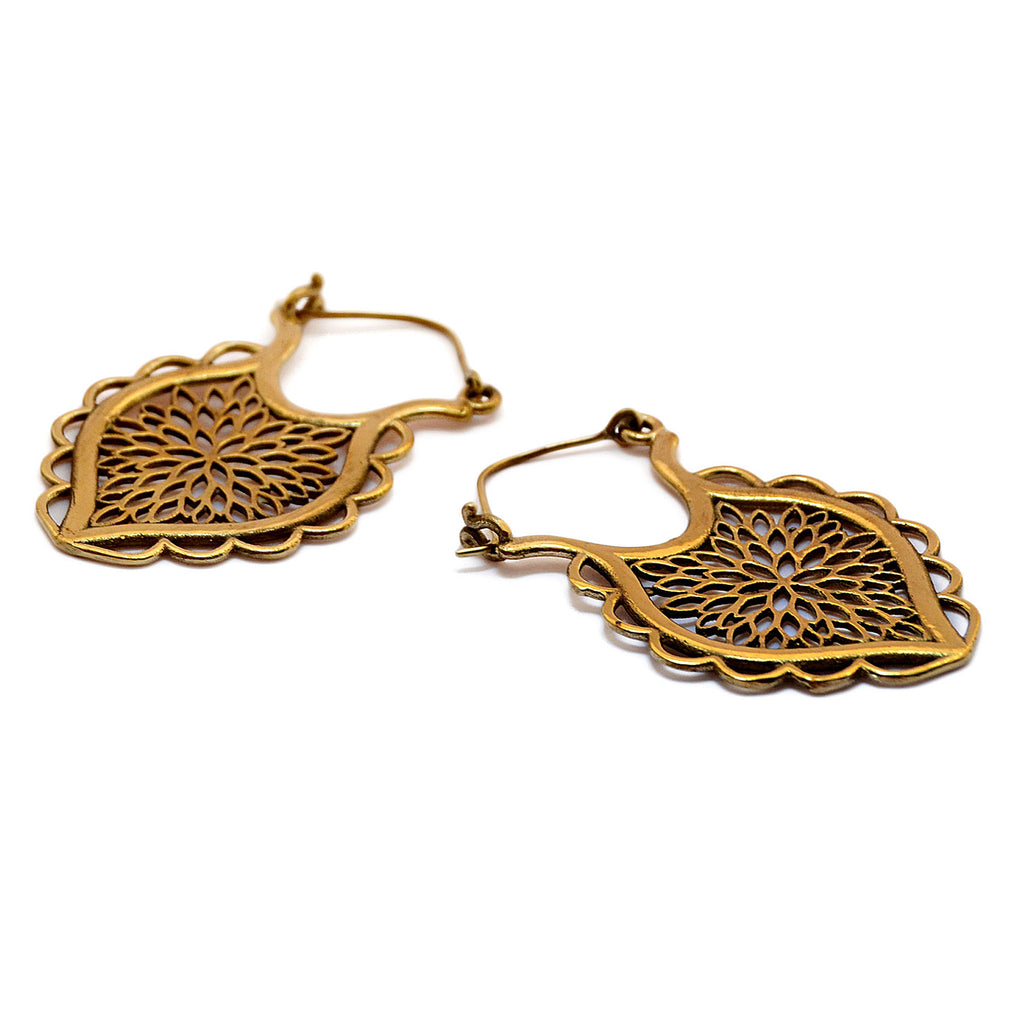 Gypsy earrings gold