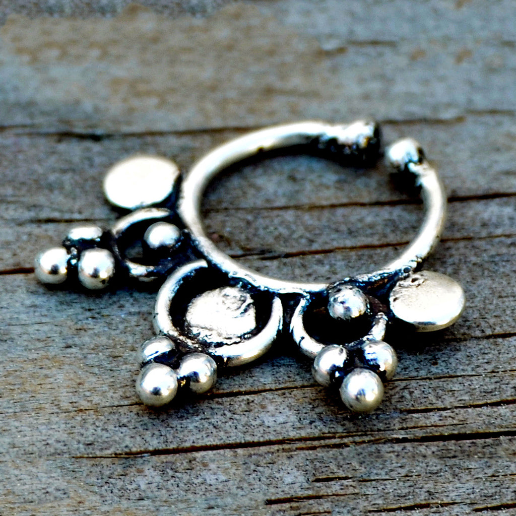 Silver Septum Ring