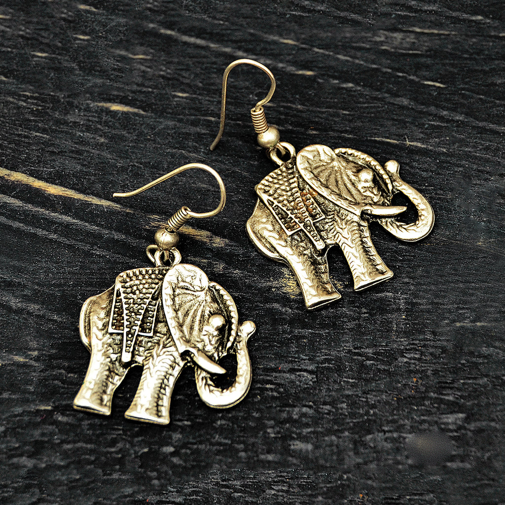 Turkish elephant earrings