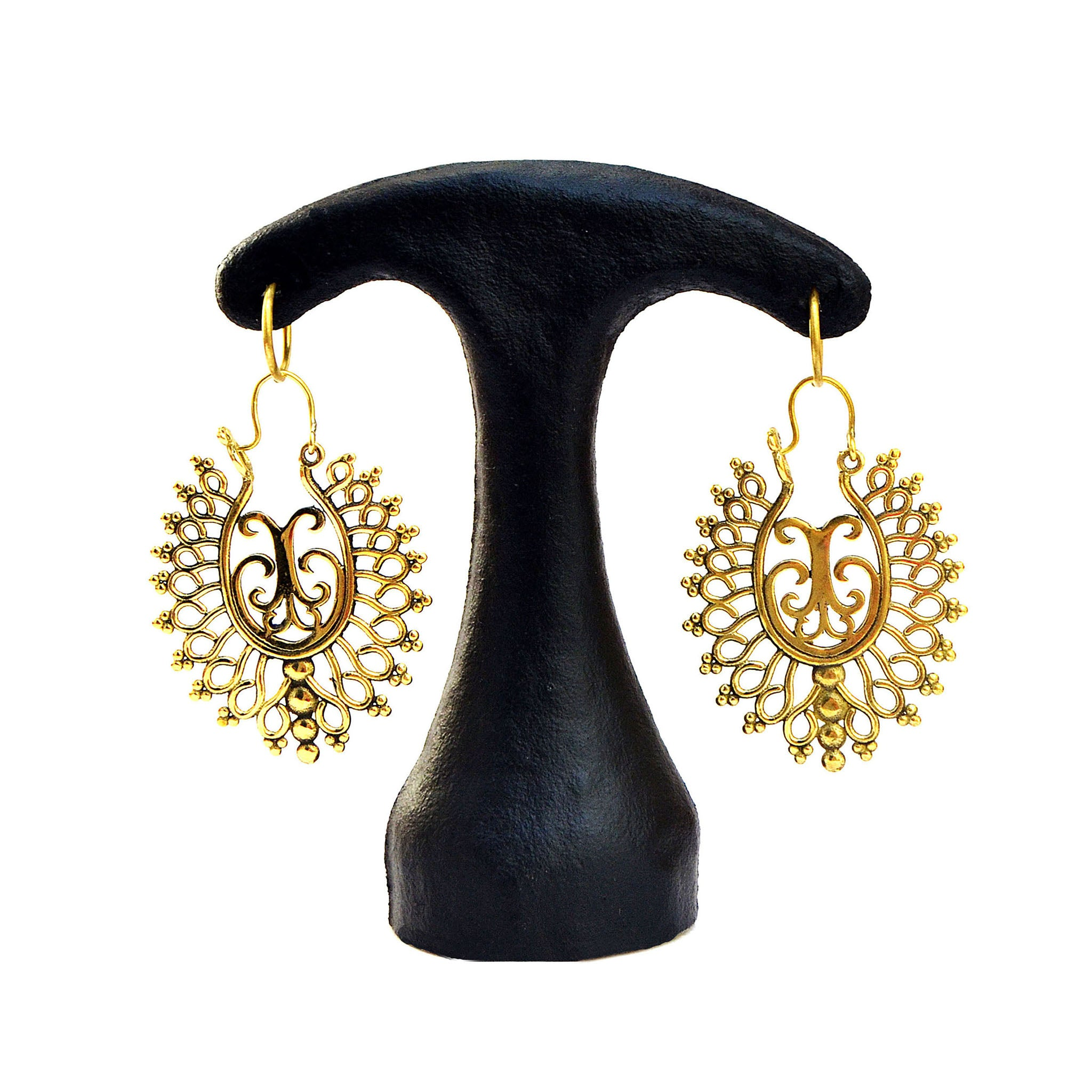 Ethnic dangly earrings