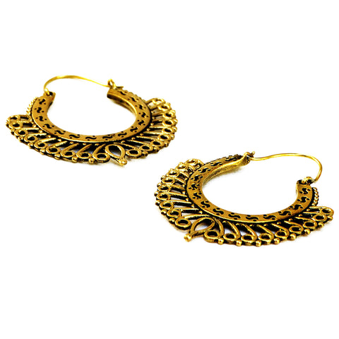 Hoop Filigree Earrings