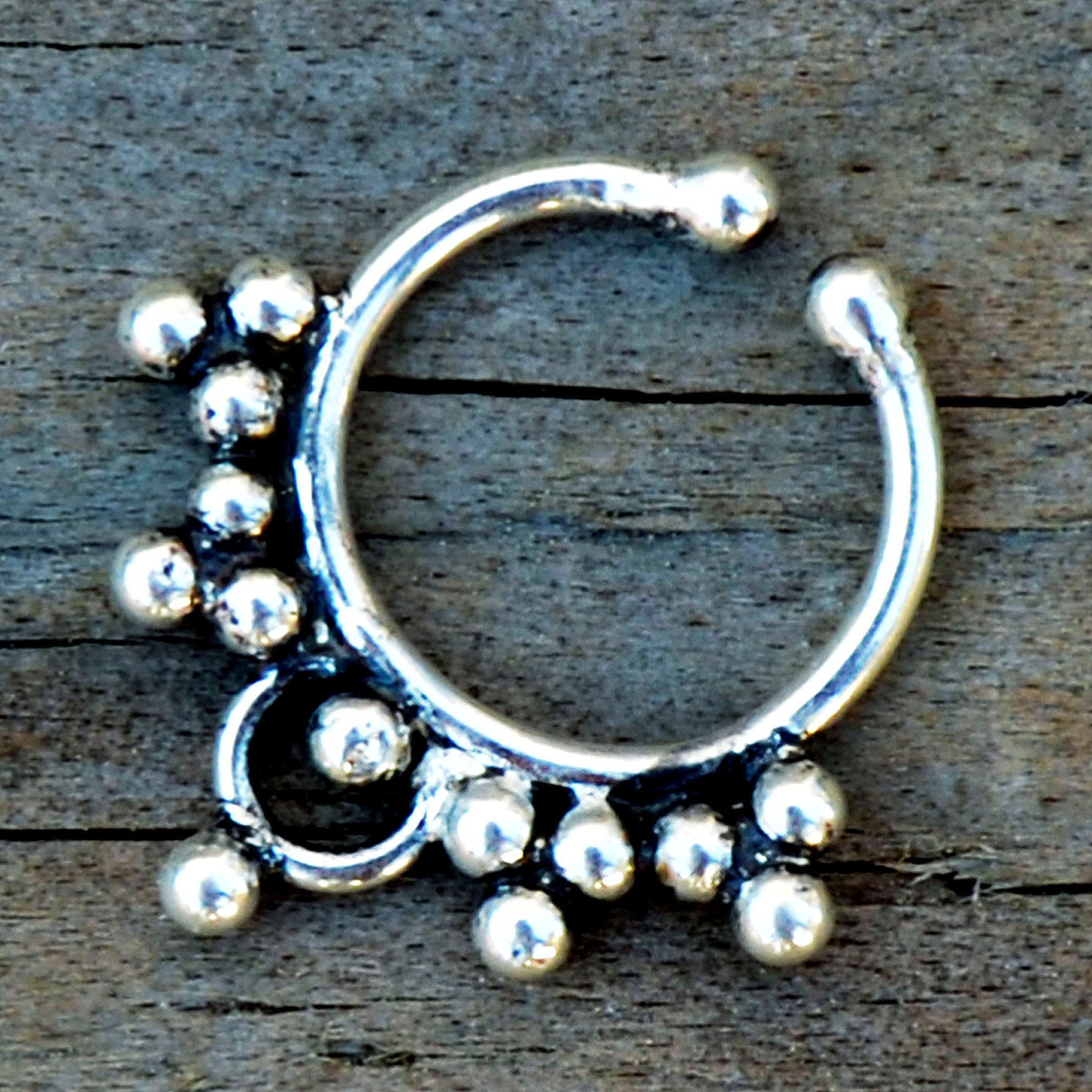 Small Septum Ring