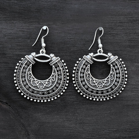 Ottoman Gypsy Hoop Earrings