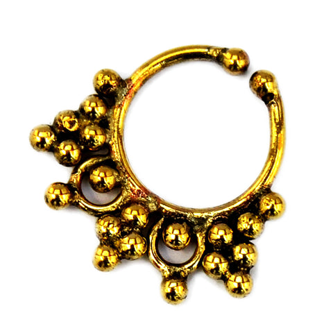 Gypsy Brass Septum
