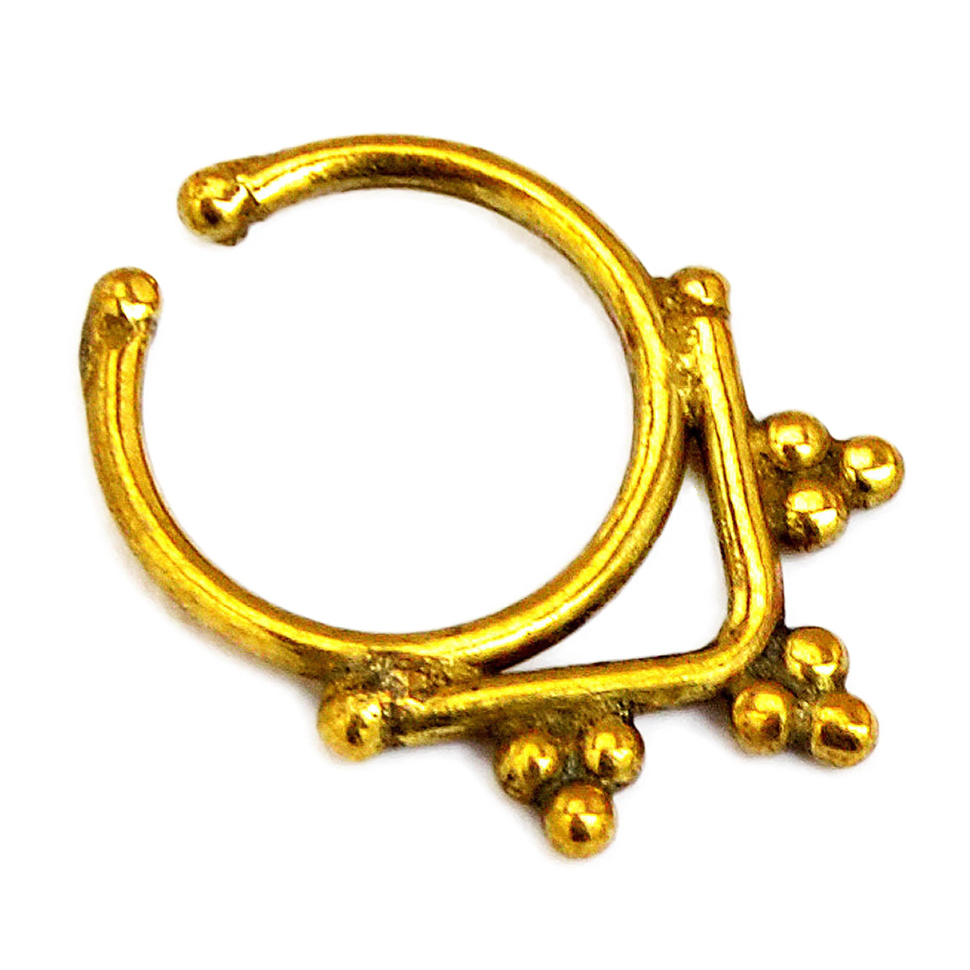 Gold Septum Ring