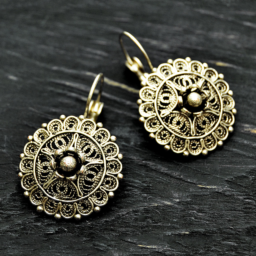 Ottoman mandala earrings