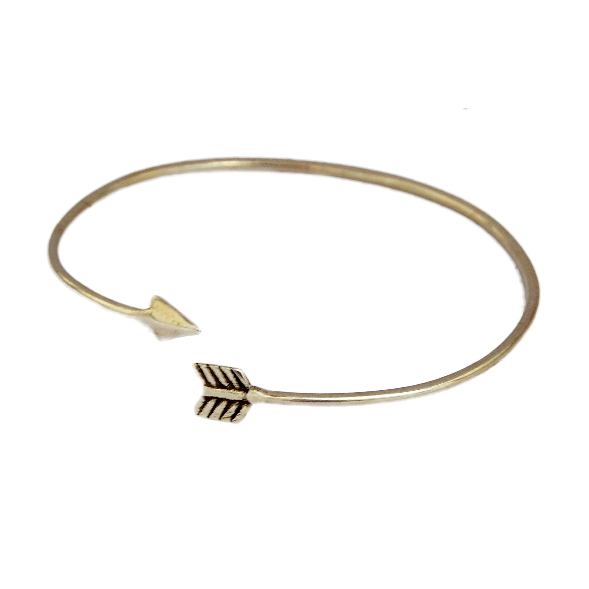 chupi arrow bracelet products follow dreams in gold your