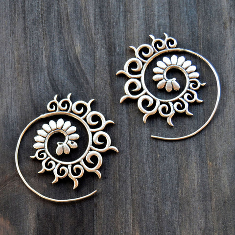 Spiral Gypsy Earrings