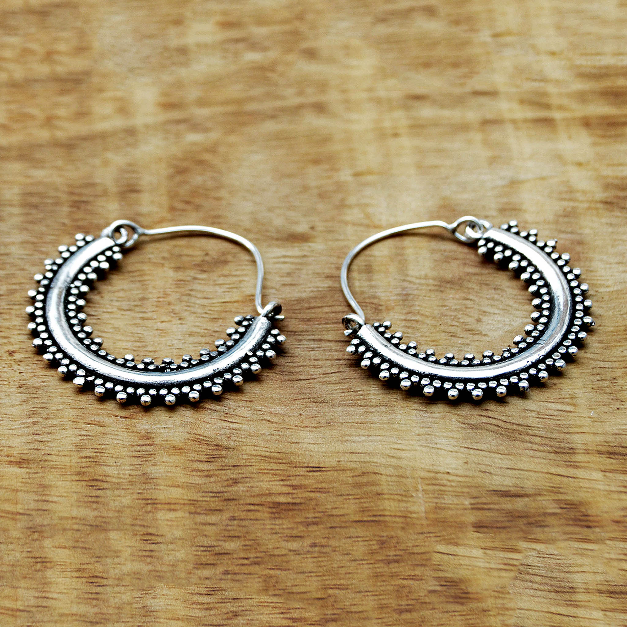 Tribal indian earrings