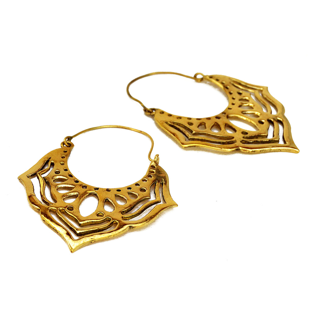 Gold Bohemian Earrings