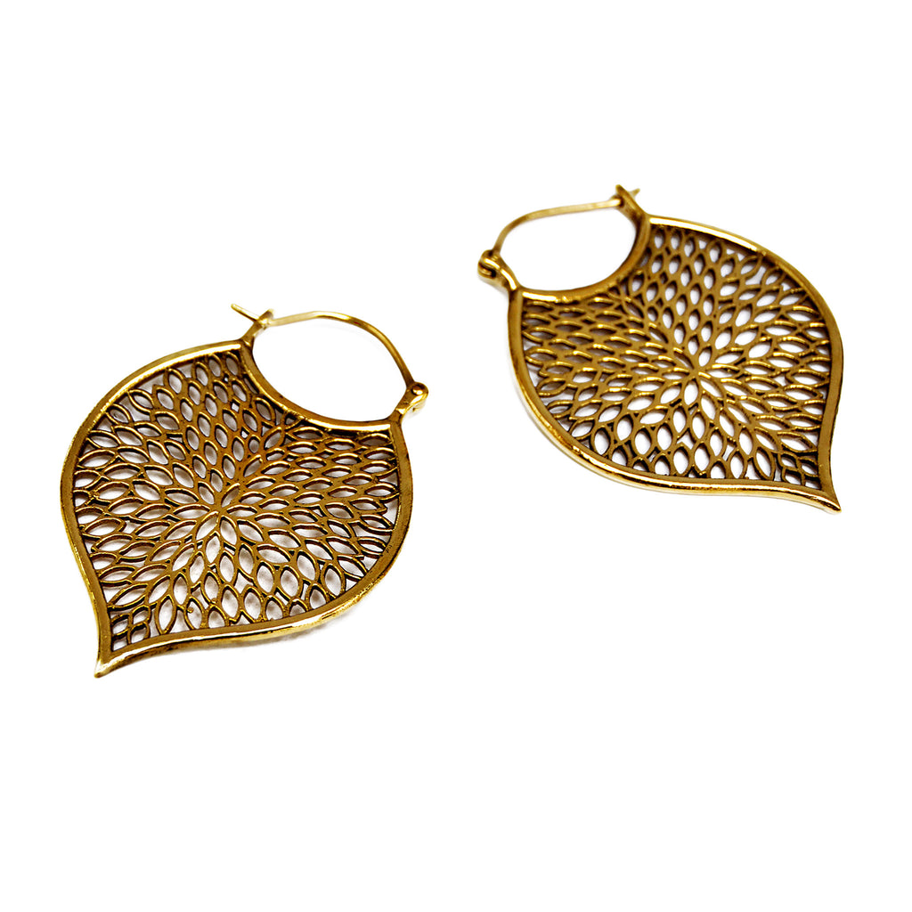 Large indian earrings