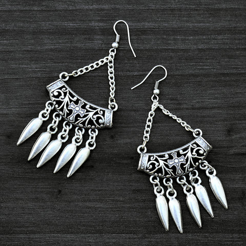 Dangle Tribal Earrings