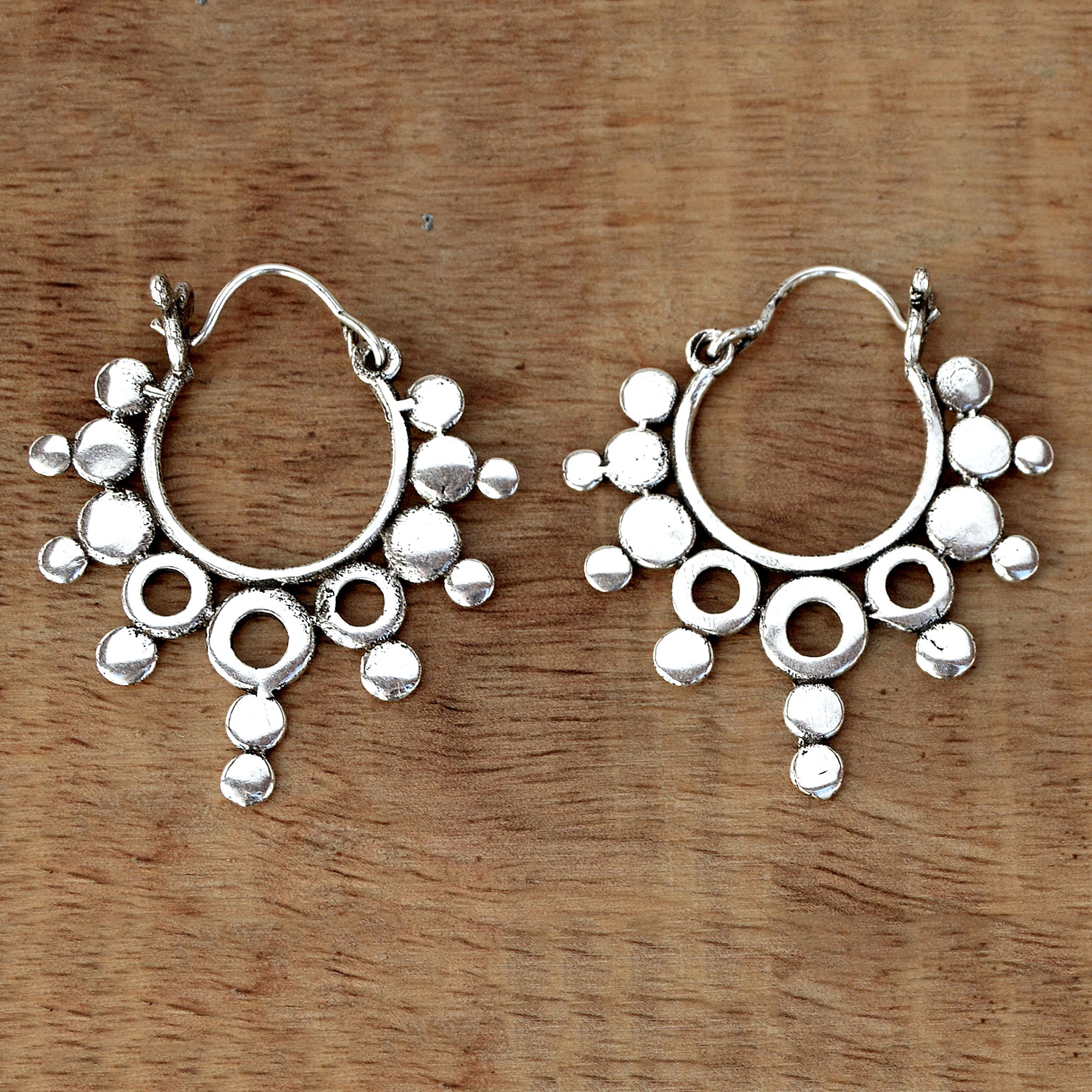 il listing handmade zoom indian earrings rajasthani tribal fullxfull plug silver pair